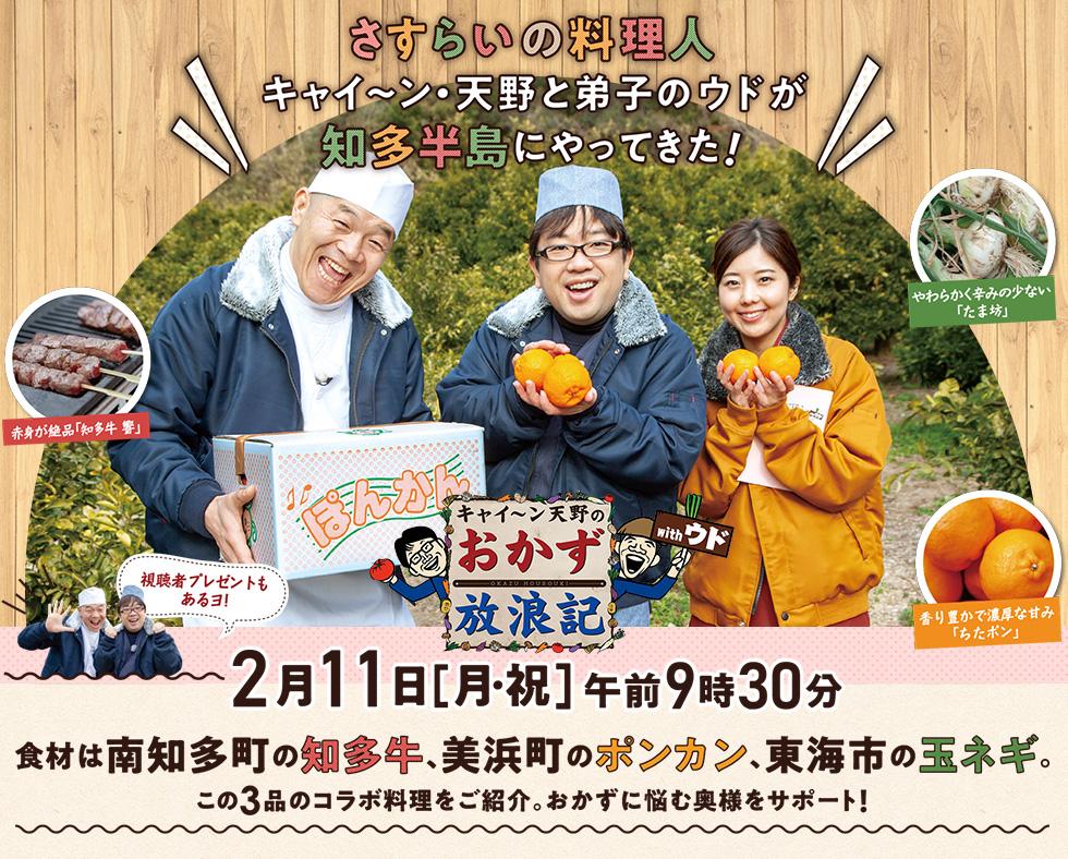 キャイ~ン天野のおかず放浪記withウド 知多半島でオリジナル料理 ...